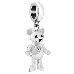 Chamilia Sterling Silver Teddy Love Charm - Product number 6143393