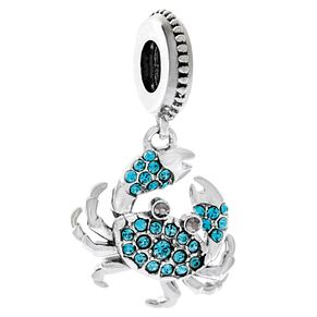 Chamilia Sterling Silver Crystal Claws Charm - Product number 6143466