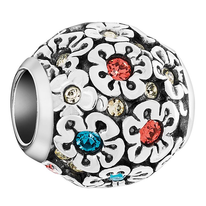 Chamilia Sterling Silver Happy Petals Treasure Bead - Product number 6143512