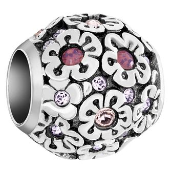 Chamilia Sterling Silver Happy Petals Treasure Bead - Product number 6143725