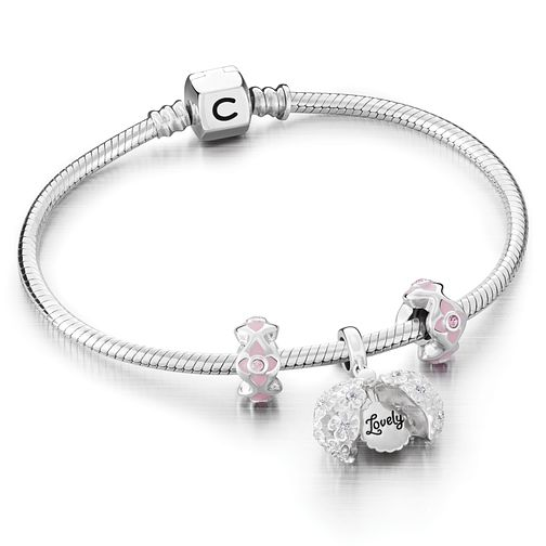 Chamilia Pomander Bracelet and Charms Gift Set - Product number 6144462