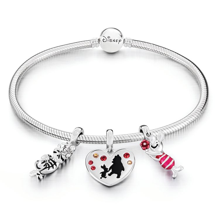 Chamilia Disney Winnie the Pooh Charm and Bracelet Set - Product number 6144489