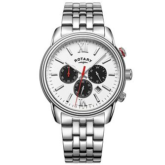 Rotary Monaco Men's Stainless Steel Bracelet Watch - Product number 6144713