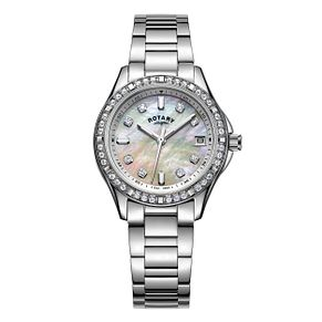 Rotary Ladies' Stainless Steel Bracelet Watch - Product number 6144993