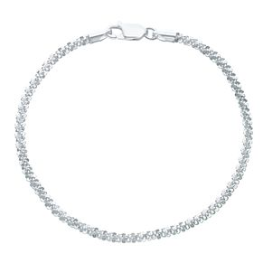 Sterling Silver Sparkle Bracelet - Product number 6147259
