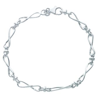 Sterling Silver Infinity Bracelet - Product number 6147267