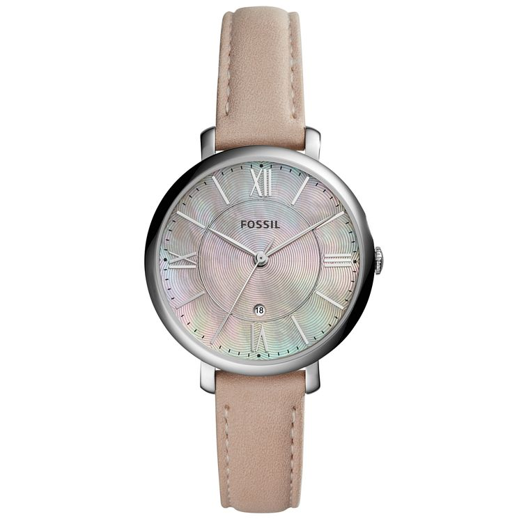 Fossil Jacqueline Ladies' Stainless Steel Strap Watch - Product number 6153089