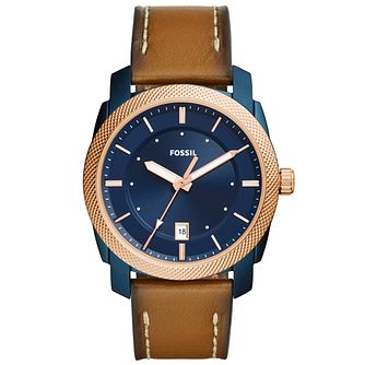 Fossil Men's Ion Plated Strap Watch - Product number 6153135