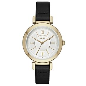 DKNY Ladies' Gold Tone Strap Watch - Product number 6153348