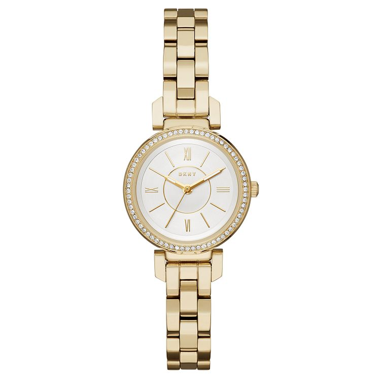 DKNY Elling Ladies' Gold Tone Strap WAtch - Product number 6153453