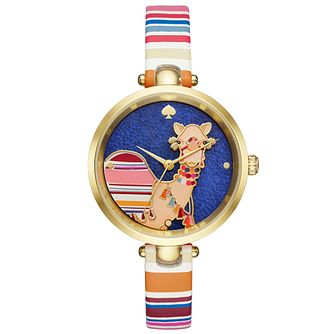 Kate Spade Ladies' Gold Tone Strap Watch - Product number 6153550