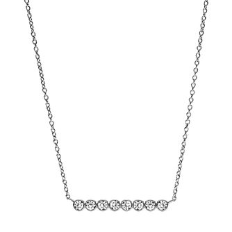 Fossil Glitz Stainless Steel Necklace - Product number 6154581