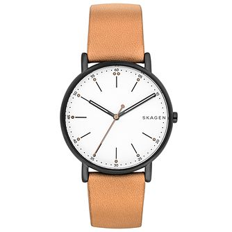 Skagen Men's Ion Plated Strap Watch - Product number 6165311