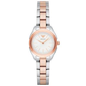 Emporio Armani Ladies' Two Colour Bracelet Watch - Product number 6171486