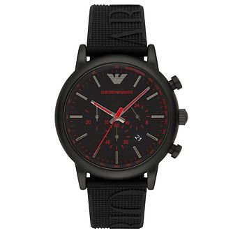 Emporio Armani Men's Ion Plated Strap Watch - Product number 6171575