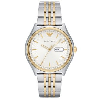 Emporio Armani Men's Two Colour Bracelet Watch - Product number 6171605