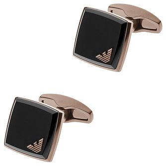 Emporio Armani Ion Plated Cufflinks - Product number 6175317