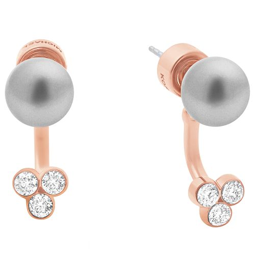 Michael Kors Rose Gold tone Stone Set Stud Earrings - Product number 6175562