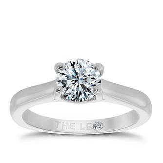 Leo Diamond platinum 1ct I-SI2 solitaire ring - Product number 6176283