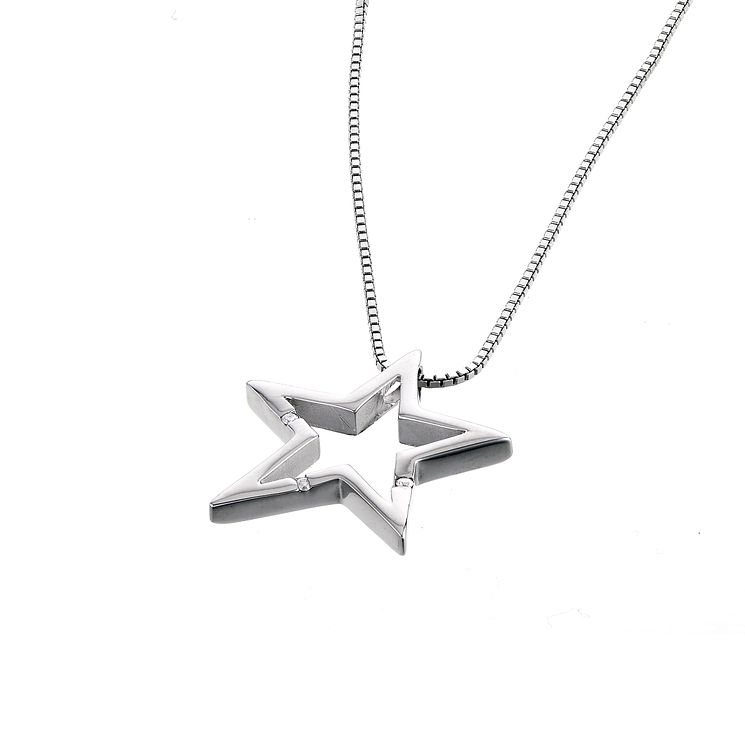 Hot Diamonds Sterling Silver Star Charm