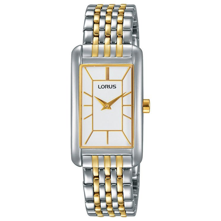 Lorus Ladies' Two Tone Side Wrapped Bracelet Watch - Product number 6183646