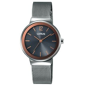 Lorus Ladies' Round Dial Mesh Bracelet Dress Watch - Product number 6183654