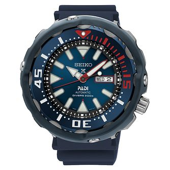 Seiko Prospex Men's Automatic Diver's Blue Strap Watch - Product number 6187951