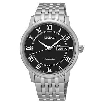 Seiko Presage Men's Automatic Stainless Steel Bracelet Watch - Product number 6188117