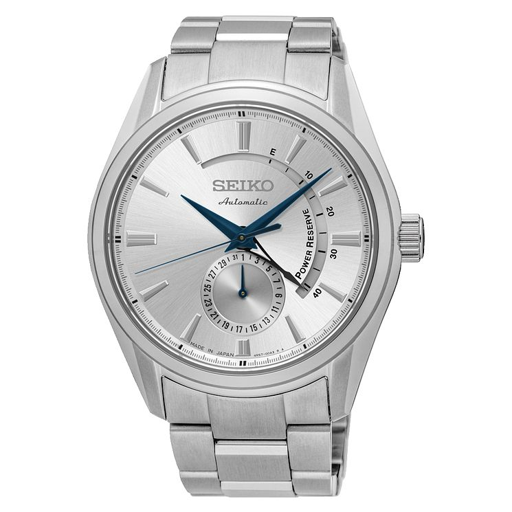 Seiko Presage Men's Automatic Stainless Steel Bracelet Watch - Product number 6188133