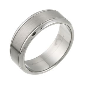 Titanium Signet Ring - Product number 6191169