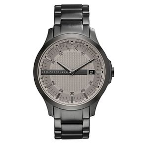 Armani Exchange Men's Grey Stainless Steel Bracelet Watch - Product number 6194109