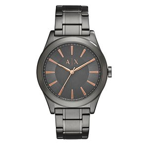 Armani Exchange Grey Stainless Steel Bracelet Watch - Product number 6194125