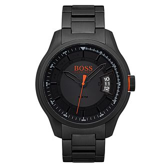 Hugo Boss Orange Men's Black Stainless Steel Bracelet Watch - Product number 6194214
