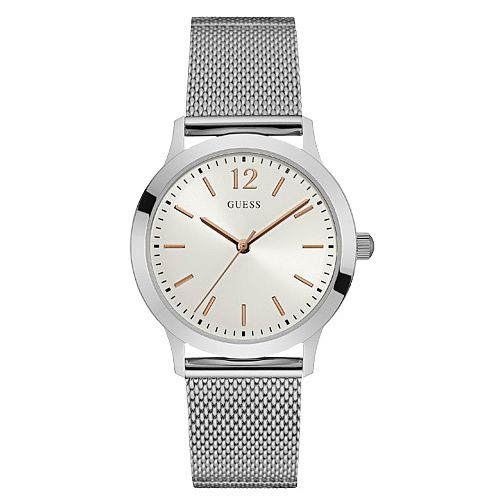Guess Men's Stainless Steel Mesh Bracelet Watch - Product number 6195059