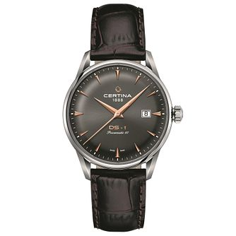 Certina  DS-1 Men's Stainless Steel Strap Watch - Product number 6197302