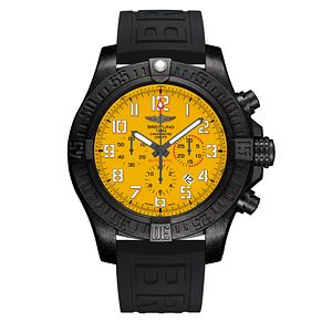 Breitling Avenger Hurricane Men's Black Rubber StrapWatch - Product number 6210864