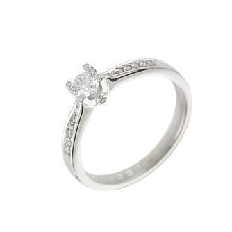 18ct White Gold 1/3 Carat Forever Diamond Ring - Product number 6215572
