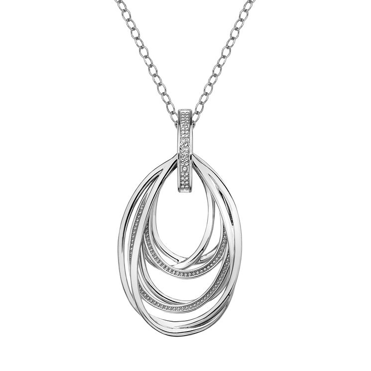 Hot Diamonds Chandelier Sterling Silver Necklace - Product number 6215831