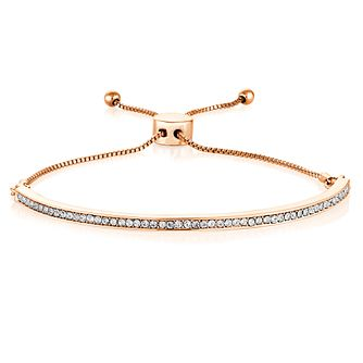 Buckley London Rose Tone & Cubic Zirconia Bracelet - Product number 6221181