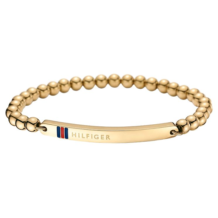Tommy Hilfiger Gold Plated Beaded Bracelet - Product number 6222935
