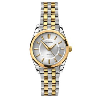 Sekonda Ladies' Two Tone Bracelet Watch - Product number 6231071
