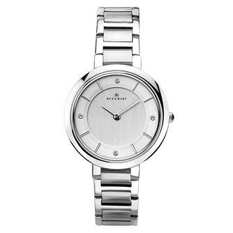 Accurist Ladies' Stainless Steel Bracelet Watch - Product number 6231101
