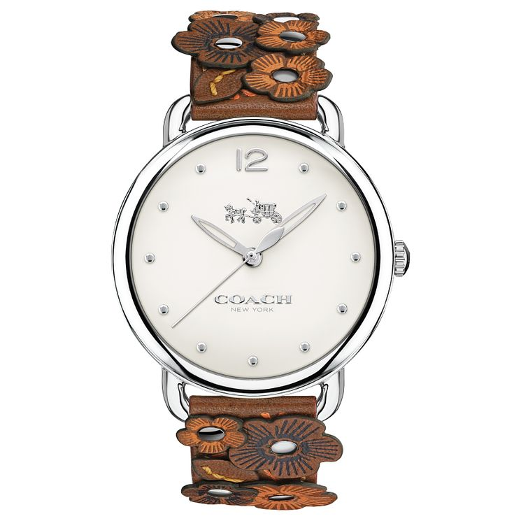 Coach Delancy Ladies' Stainless Steel Strap Watch - Product number 6231144