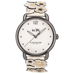 Coach Delancy Ladies' Ion Plated Strap Watch - Product number 6231292