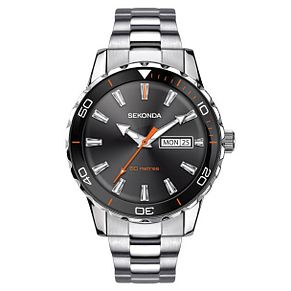 Sekonda Men's Stainless Steel Bracelet Watch - Product number 6231322