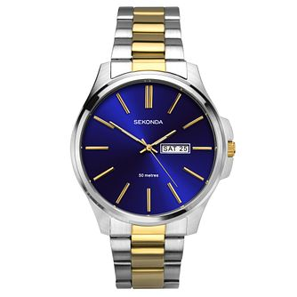 Sekonda Men's Two Tone Bracelet Watch - Product number 6231365