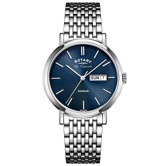 Rotary Les Originales Windsor Stainless Steel Bracelet Watch - Product number 6231586