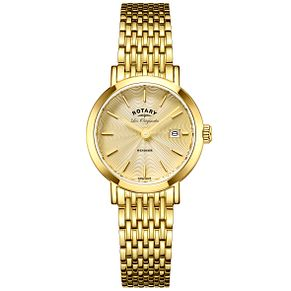 Rotary Les Originales Windsor Gold-Plated Bracelet Watch - Product number 6232329