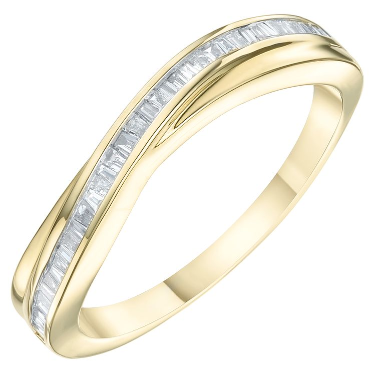 9ct Yellow Gold  0.15ct Diamond Eternity Ring - Product number 6234631