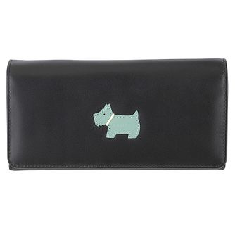 Radley Matinee Large Foldover Black Leather Purse - Product number 6237118